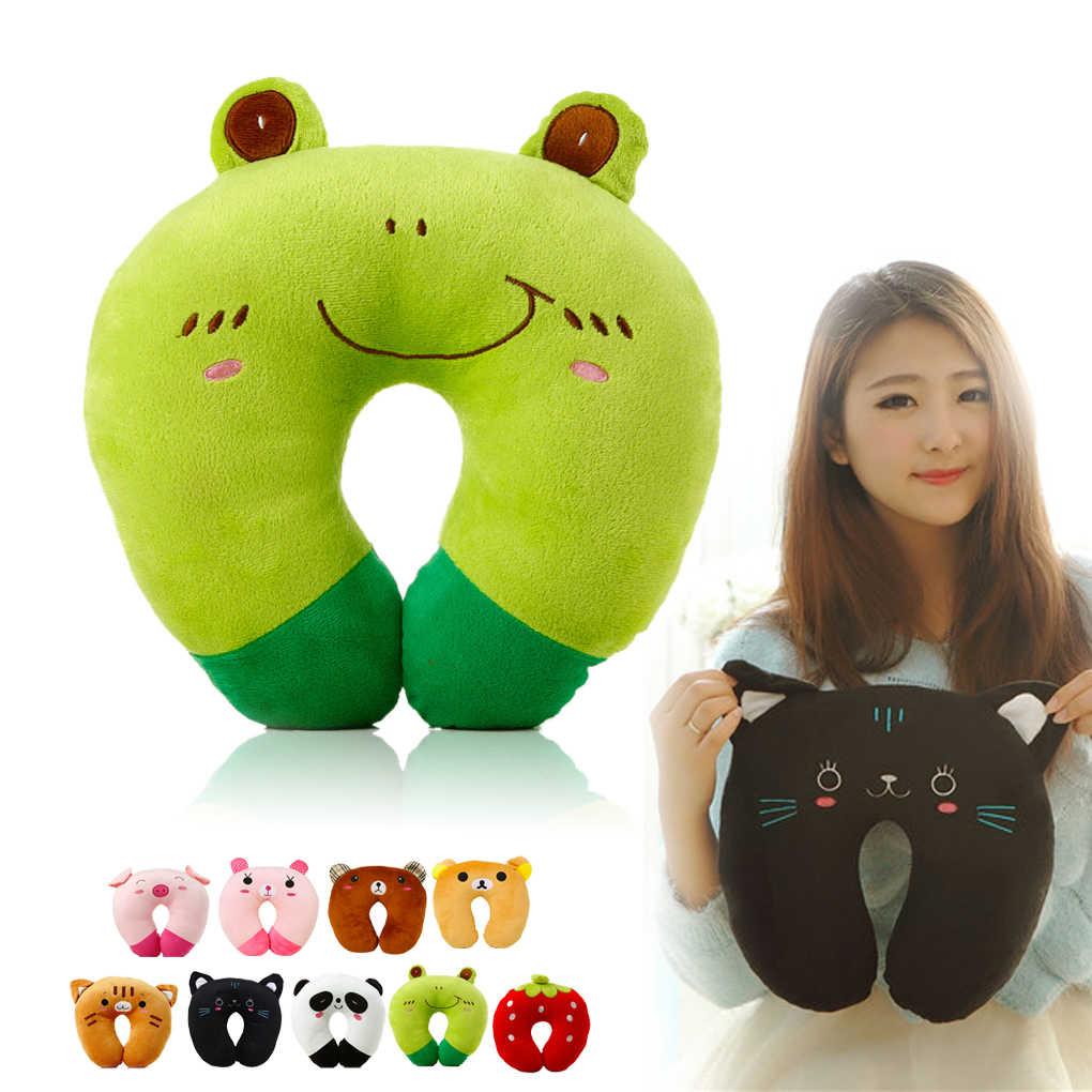 Suave juguete para bebé niño reposacabezas almohada protección para la cabeza de bebés niños asiento de seguridad para el cuello almohada accesorios para cochecito