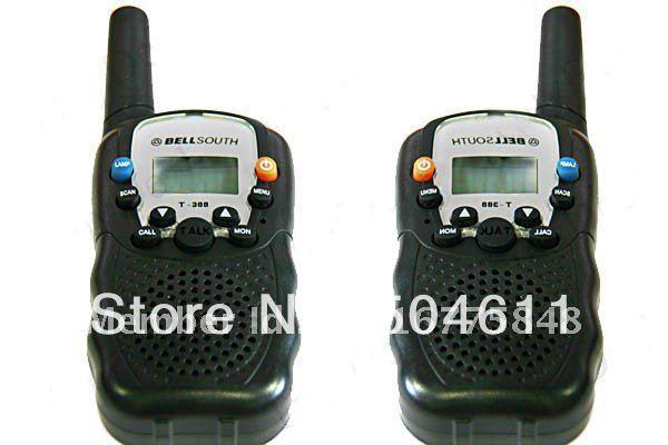 bellsouth 22 channel frs walkie talkie interphone 5 km long range par