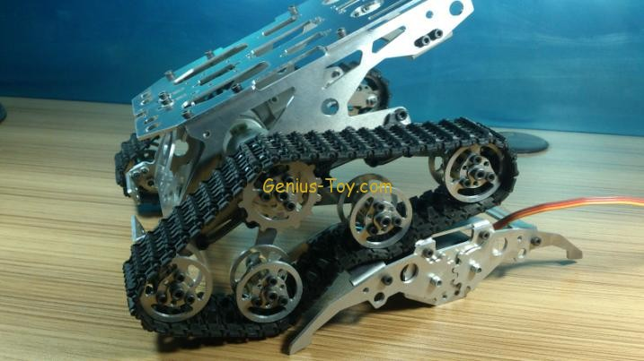 Smart tank chassis crawler independent suspension damping Aluminum Alloy H400 ontology based crawler