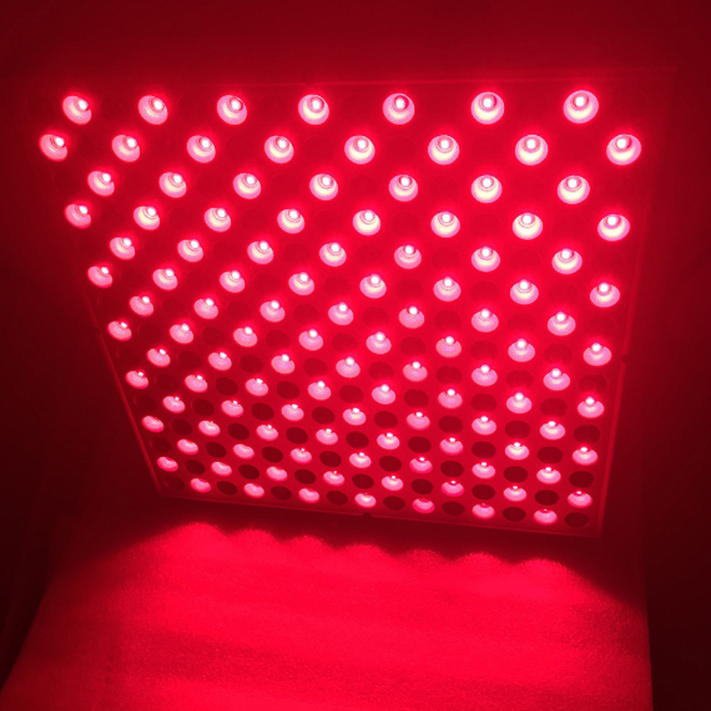 Pure Red 660nm 850nm Grow Light Indoor 225LED Lamp 45W LED Panel Grow Light Hydroponic Indoor Plants Veg and Flower Growing