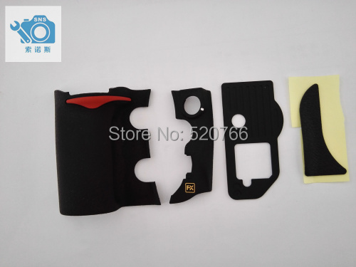 new and original for niko lens D700  RUBBER UNIT 4 Pieces Grip Rubber free shipping new and original for niko d810 rear cover unit 1182j