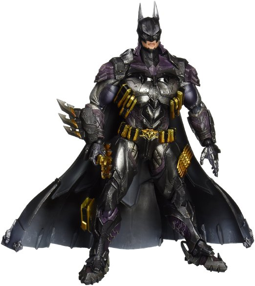 купить New Play Arts Kai DC Comics Super Hero Variant PlayArts Kai No.14 Batman Armored 27cm Square Enix Action Figure Statue Toys онлайн