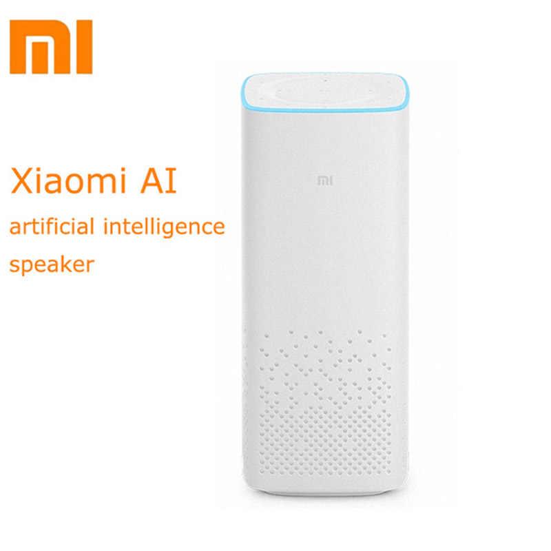 Оригинальный Xiaomi AI смарт динамик Портативный Bluetooth голосовой с дистанционным