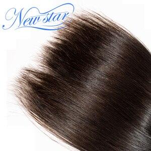 Image 5 - ブラジルバージン人毛ストレートスタイル延長 3 バンドル 100% 未処理の無傷のキューティクル新スターロングヘアウィービング