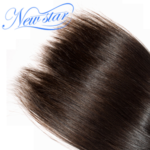 Image 5 - Brazilian Virgin Human Hair Straight Style Extension 3 Bundles Deal 100%Unprocessed Intact Cuticle New Star Long Hair Weaving