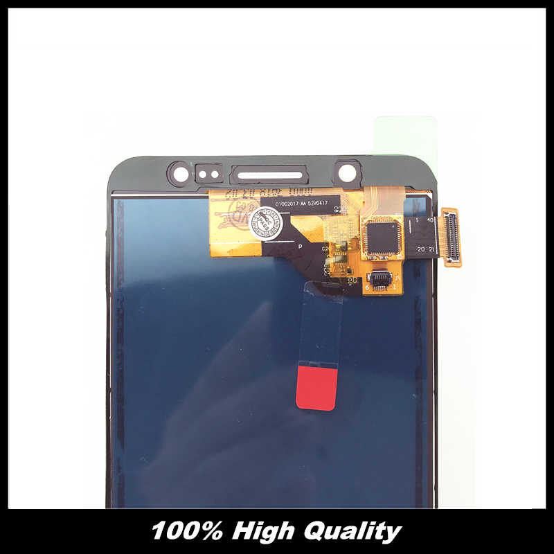 """اختبار العمل جيدا شاشات الكريستال السائل لسامسونج غالاكسي J510 J5 2016 J510FN J510F J510M 5.2 """"شاشة إل سي دي باللمس شاشة قطع غيار محول رقمي"""