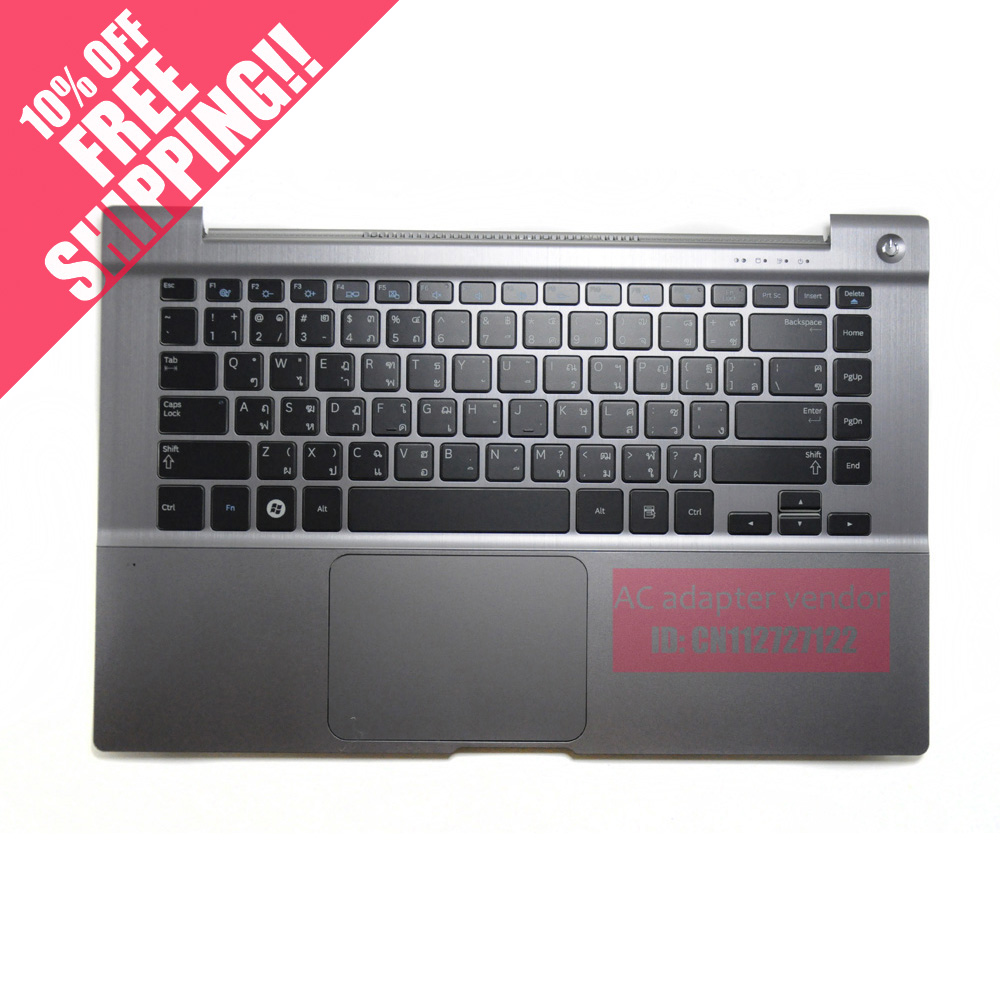 FOR Samsung NP700Z4A notebook keyboard with c shell with backlight (Thailand Thai layout )