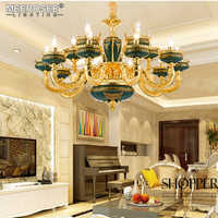 Vintage Chandelier Lighting Fixture Luxury Hanging Lamp for Restaurant Cocina Hotel Luminaire Lustres Indoor Decoration Lighting