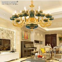 купить Vintage Chandelier Lighting Fixture Luxury Hanging Lamp for Restaurant Cocina Hotel Luminaire Lustres Indoor Decoration Lighting онлайн
