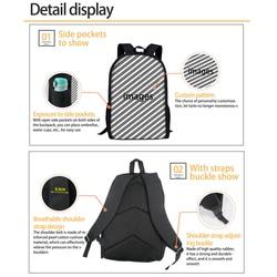 FORUDESIGNS marka Design piłka nożna/piłka nożna druku torby szkolne dla nastolatków podstawowego dla dzieci Plecak dla dzieci męski Plecak Plecak Szkolny 4