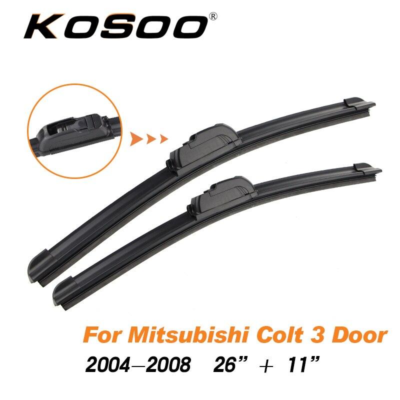 Mitsubishi ASX 2010 Onwards HYBRID Windscreen Wiper Blades