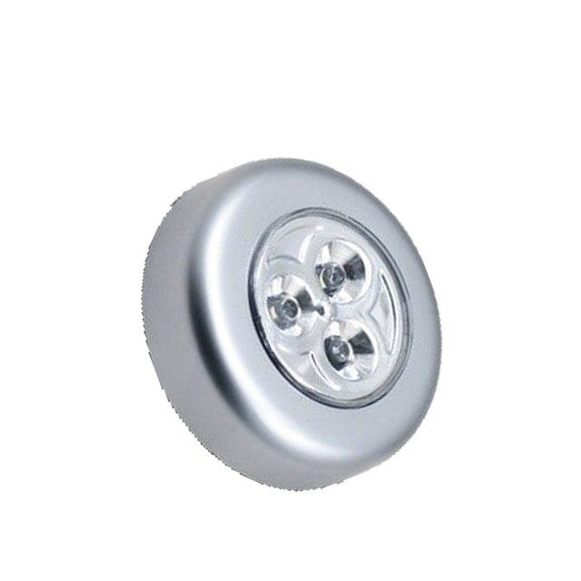 wandlamp keukenkast bu kast verlichting 3 led wireless push touch wc lamp