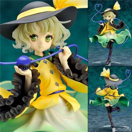 ФОТО Free Shipping Anime Touhou Project Komeiji Koishi 1/8 Scale PVC Figure Collectible Model Toy 20cm Retail Box