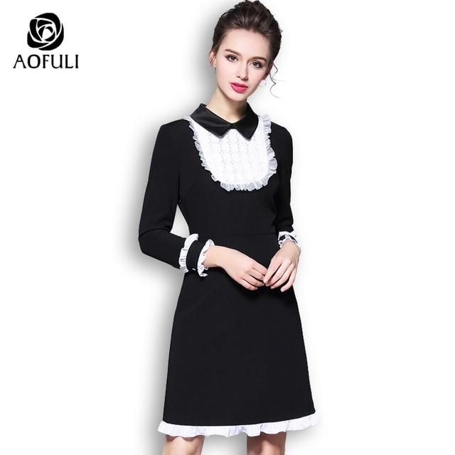 Audrey hepburn style long black dress