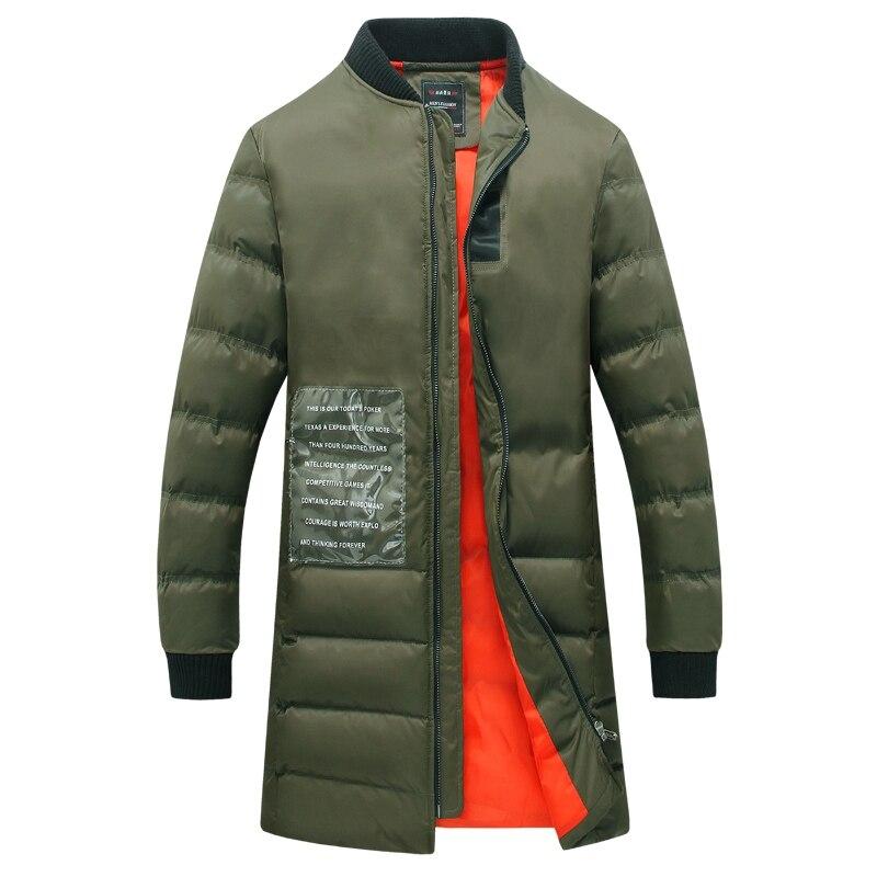 2016 Men Winter Jackets Padded Coats Jaqueta Masculina Veste Homme Parkas Men's Casual Fashion Slim Fit Cotton-Padded Jackets