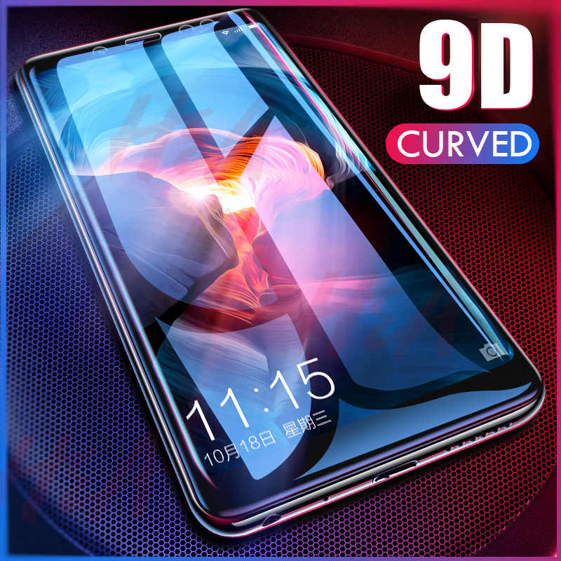 H&A 9D Curved Protective Glass on the For Samsung Galaxy A3 A5 2017 A6 A8 J4 J6 J8 Plus 2018 Full Screen Protector A8 Plus Glass