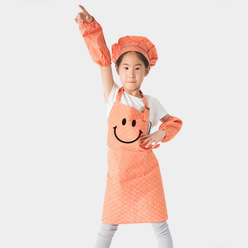 Anaokulu Cocuk Boyama Giysileri Cocuk Yemek Anti Yagliboya