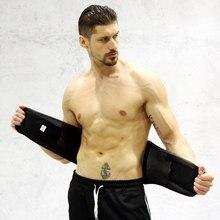 ebc242c2197 Slimming Body Shaper Sport Girdle Belt Sweat Waist Abdominal Trainer  Trimmer Belt Fitness Equipment Sports Safety Back Support