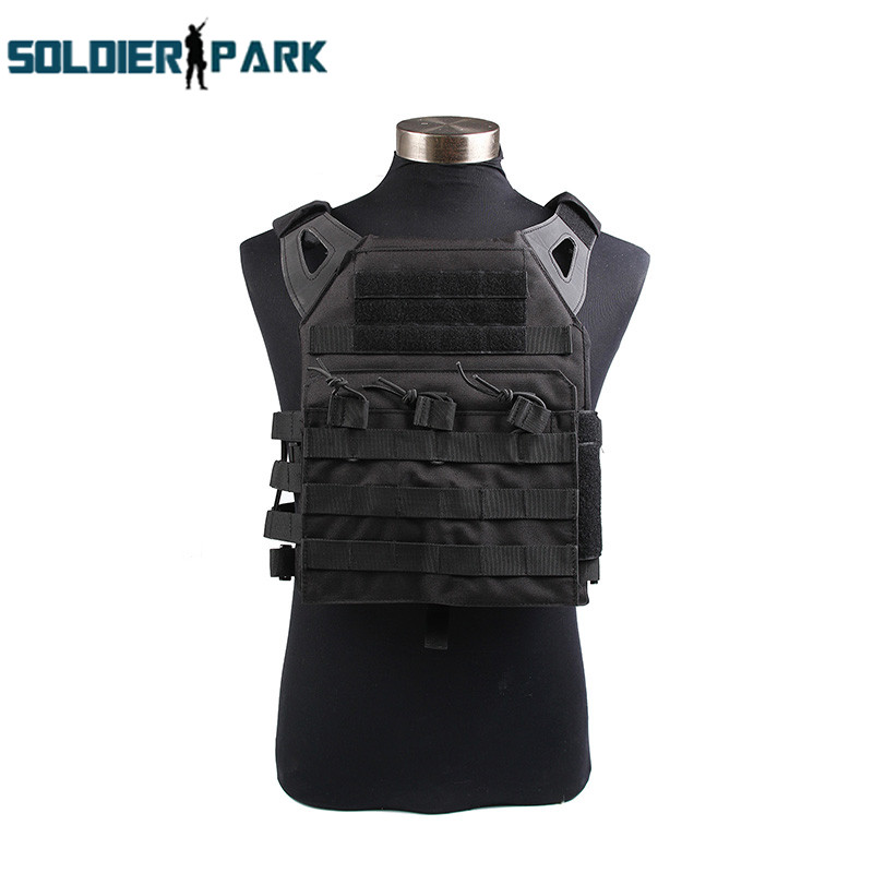 1000D JPC Tactical Vest Simplified Version Airsoft Combat Paintball Molle Gear Safety Protected Vest for Men Outdoor Hunting emerson 1000d molle jpc airsoft tactical vest simplified version outdoor training paintball hunting vest plate carrier em7344