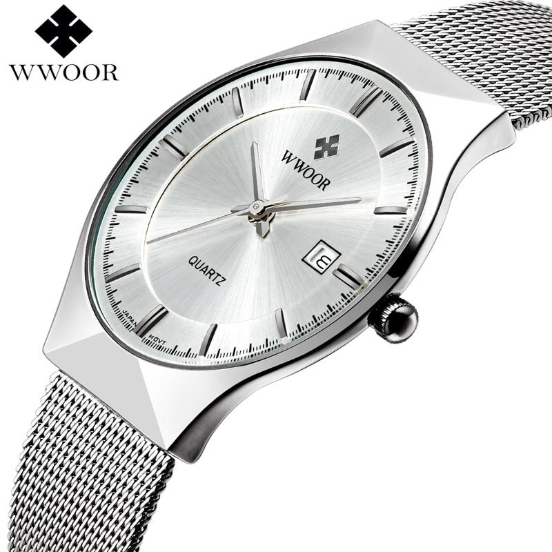 Brand Luxury Men's Watch Date 50m Waterproof Ultra Thin Clock Male Casual Quartz Watches Men Wrist Sport Watch relogio masculino