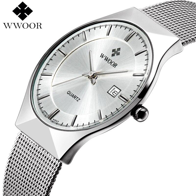 WWOOR Brand Luxury Mens Watches
