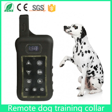 2017 Real Direct Selling Beeper Perro 400meter Rechargeable And Waterproof Static Shock Pet Remote Dog Training Collar