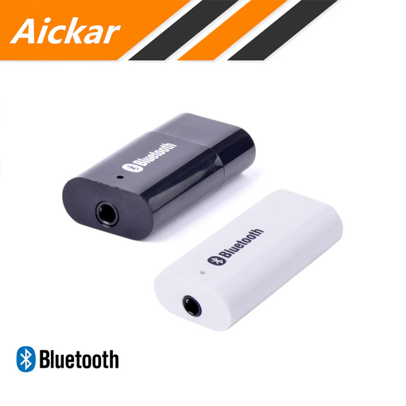 2 unids/lote 2.0 receptor 3.5mm adaptador de receptor de audio bluetooth altavoz
