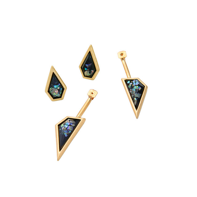 Women's Designer Geometric Stud Earrings