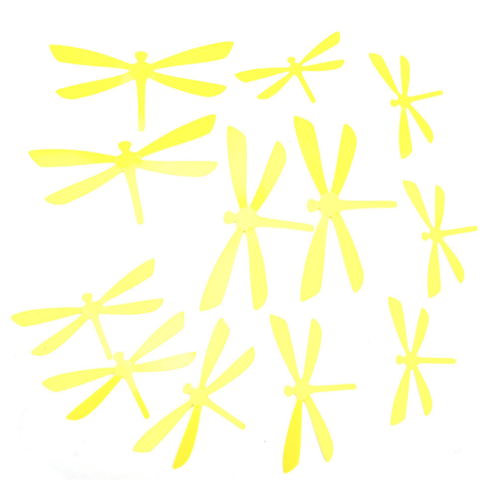 12pcs PVC Art Decal decoration DIY Decor Dragonfly Home Party Wall ...