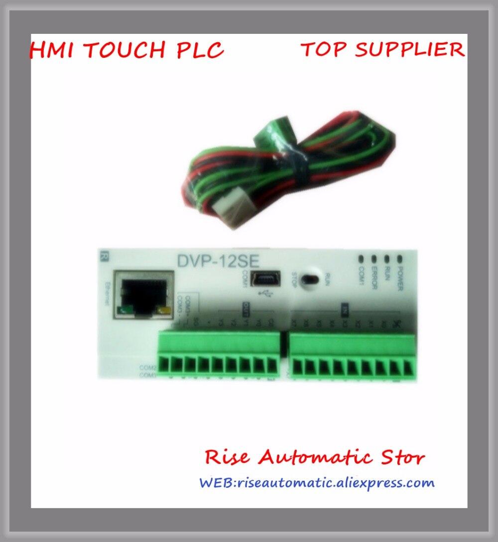 DVP12SE11R DC24V PLC 8DI 4DO relay New OriginalDVP12SE11R DC24V PLC 8DI 4DO relay New Original