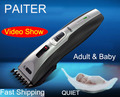 W534 Paiter silent Patchwork Baby Hair Cut Professional Trimmer  Cutter Machine Titanium Knife Head Black
