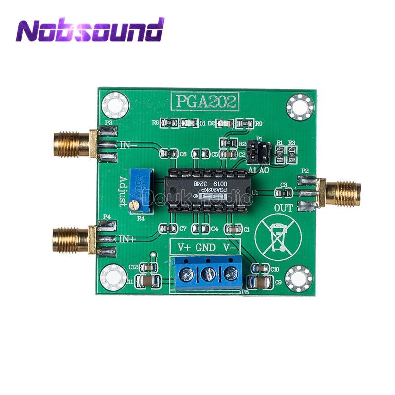 PGA202 Digital Instrumentation Amplifier Module Programmable Gain Data Collect