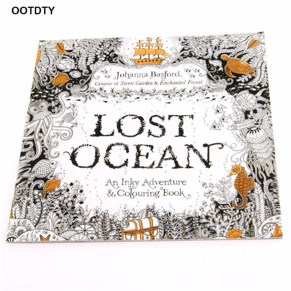 Aus Dem Ausland Importiert Verloren Ozean Zeichnung Malbuch Graffiti Bücher Erwachsene Malerei Kinder
