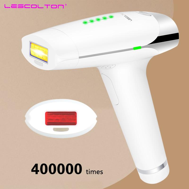 Lescolton Laser Hair Removal Device Permanent Hair Removal IPL laser Epilator Armpit Hair Removal to Remove Lip Legs Bikini