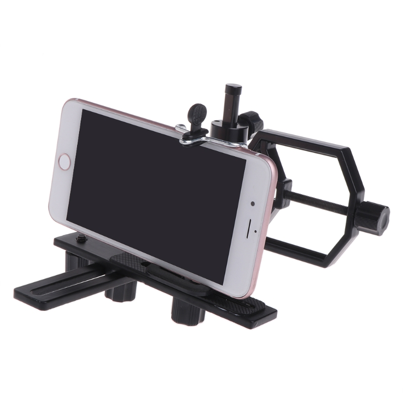 Superb Universal Digital Camera Telescope Scope Adapter Mount Cell Phone Bracket Holder universal digital camera mount adapter smart phone holder 55 95mm for spotting scopes
