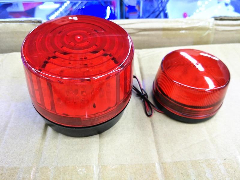 Increase LED 12V Security Alarm Strobe Signal Warning Red Blue Flashing Light