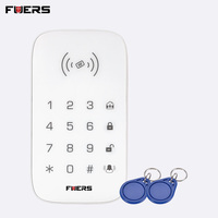 FUERS K07 Wireless RFID Tag Touch Keypad Compatible With Security Alarm System SMS Alert Function For G90B GSM Alarm Keyboard
