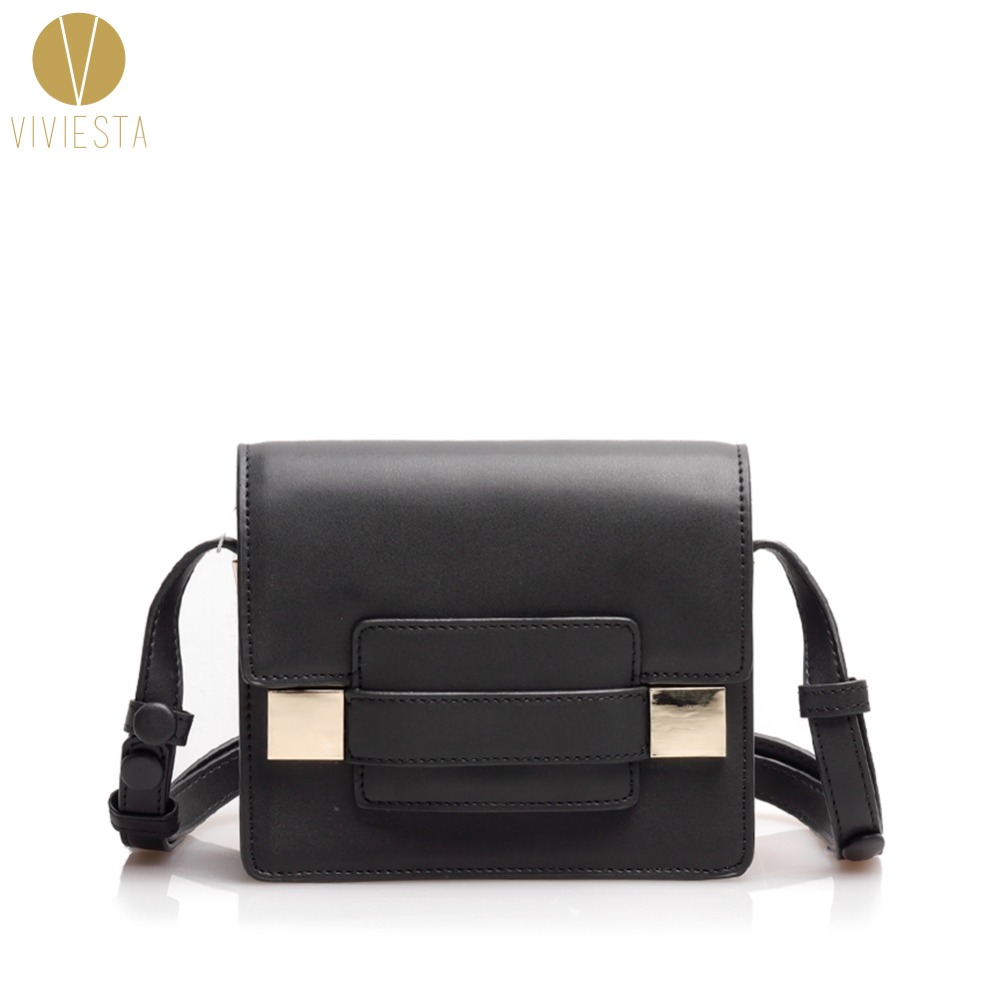 GENUINE REAL LEATHER MINI SHOULDER BAG - Women's 2018 New Brand Designer Fashion Small Crossbody Cross Body Bag Handbag Bolsa 2016 new fashion cross body bag genuine leather brand handbag soft shoulder bag designer chain high quality bag for women