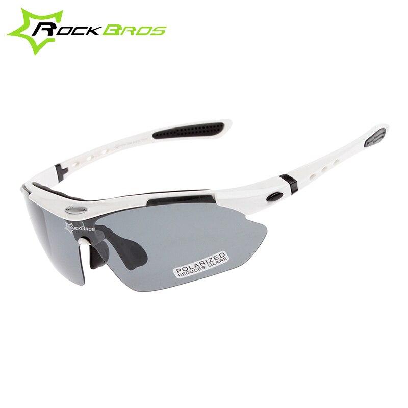 da2686edbd7735 Hot! rockbros polarisé vélo lunettes de soleil sports de plein air de vélos  lunettes de vélo lunettes de soleil tr90 lunettes lunettes 5 objectif  10002