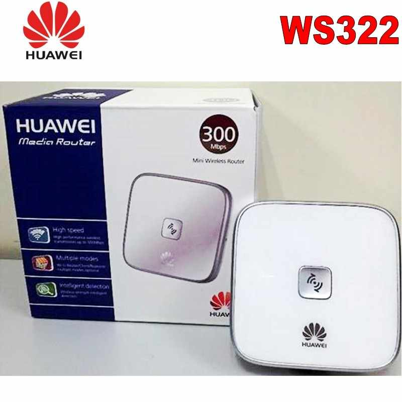 Lot of 10pcs Huawei WS322 300M Mini Wireless Repeater/Router/Client,US plug