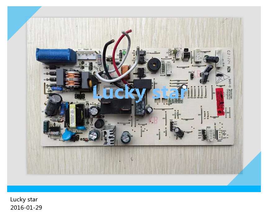 95% new for Haier Air conditioning computer board circuit board 0011800296A good working 95% new for haier air conditioning computer board circuit board kvr 32n b520a 0010450745ae good working
