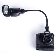 FLEXIBLE TTL FLASH CORD flexible arm control the off-camera Flashgun/Speedlite Work Different Angle 360 Control for Canon Nikon