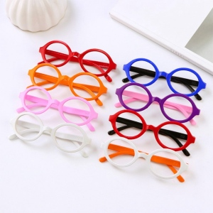 Cartoon Children Kids Glasses Eyeglass Frame Boy Girl Multi-Color Baby Toys(China)