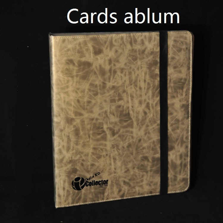 cards collection book Board game card album for MTG PKMD Holder Binders for cards pages collection trading card 9 pockets
