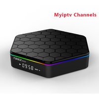 Amlogic S912 T95Z Plus 2G 16GB Android TV Box With MYIPTV Service 190 Channels For