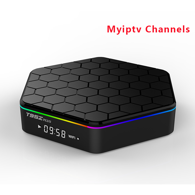 Amlogic S912 T95Z Plus 2G/16GB Android TV Box With MYIPTV Service 190+Channels for Malaysia Singapore IPTV Indonesia Brunei