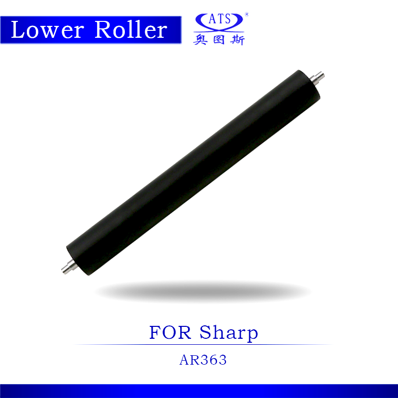 1PCS Pressure Roller AR353 AR363 Photocopy Machine Lower Fuser Roller For Sharp AR 353 363 Copier Parts photocopy machine pressure roller for canon irc3200 irc3220 irc3100 lower roller fuser roller copier parts 3200 3220 3100