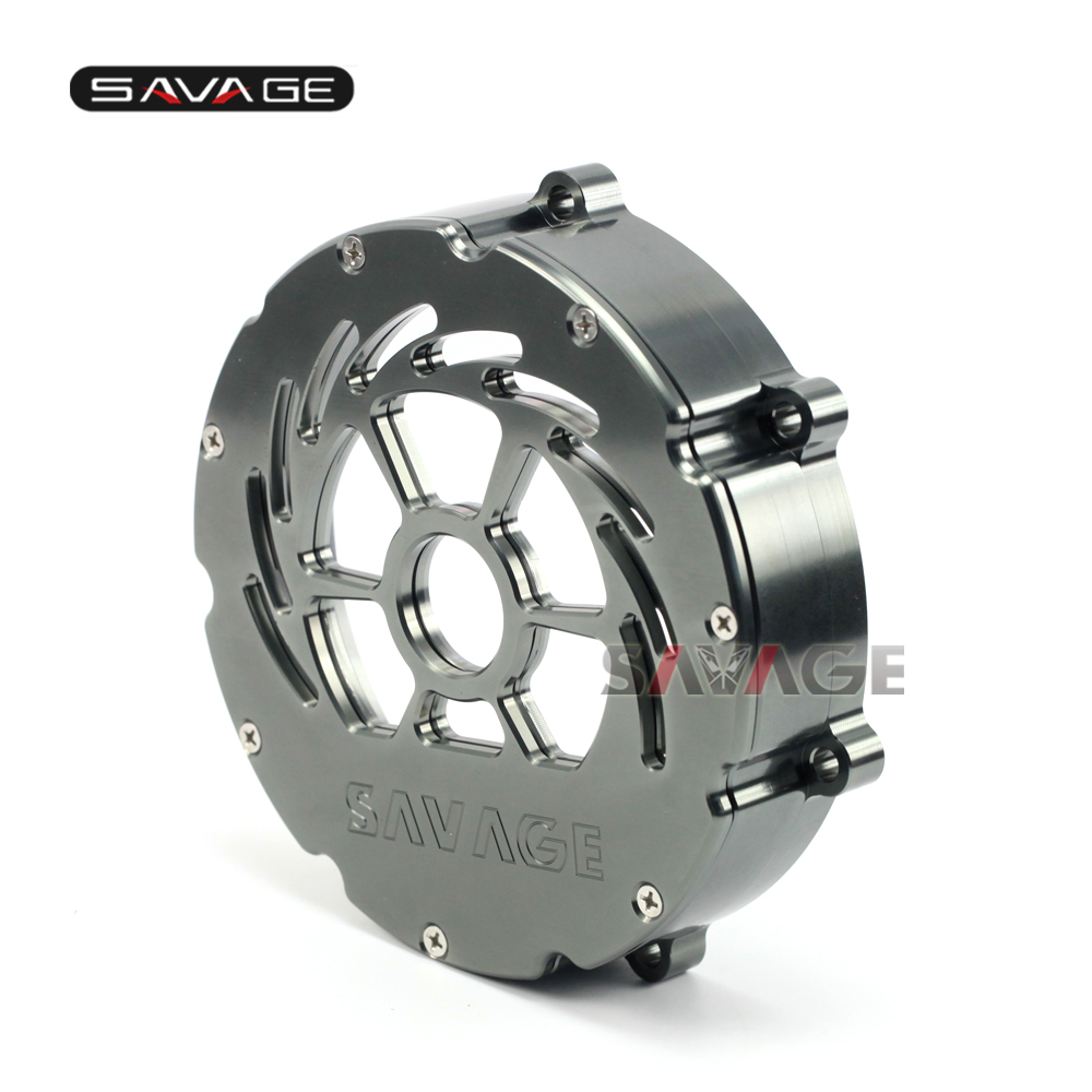 Pour KTM 990 SUPER DUKE/R ADV/R SUPERMOTO SMT/R 2009-2013 Moto Effacer Embrayage Couvercle extérieur