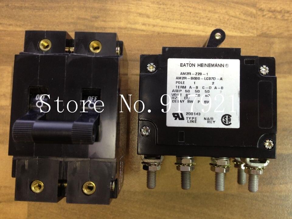 [ZOB] Eaton EATON of Germany AM2R-Z20-1 breaker 2P50A DC80V genuine original equipment  --2pcs/lot
