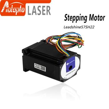 цена на Leadshine 2 phase Stepper Motor 57HS22 NEMA23 5.6A Length 81mm Shaft 8mm